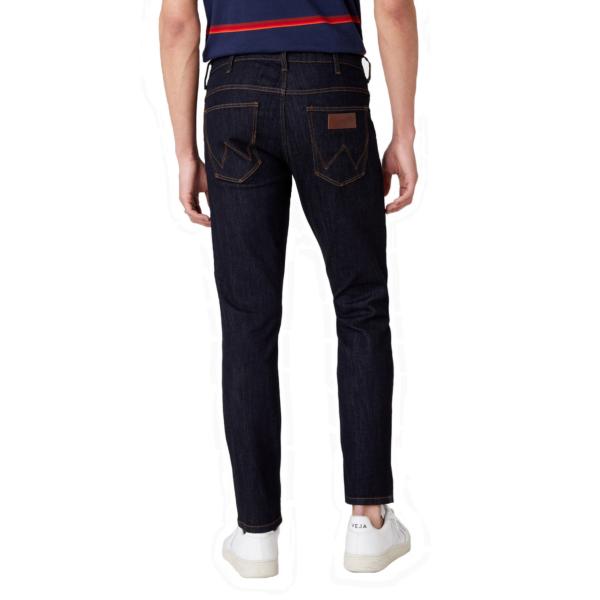 WRANGLER Larston Jeans Slim Tapered - Dark Rinse (W18SP690A)