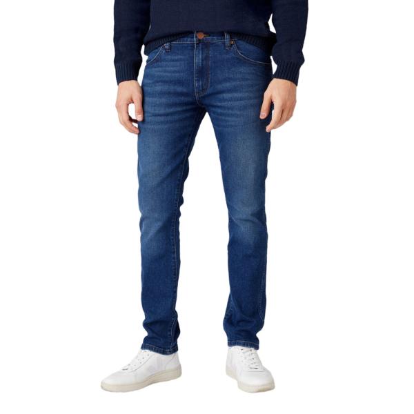 WRANGLER Larston Jeans Slim Tapered - Hot Chill (W18SU892T)