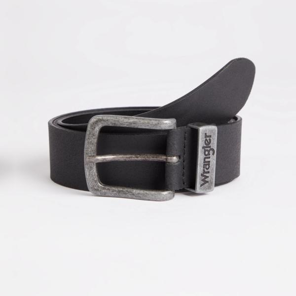 WRANGLER Metal Loop Belt - Black (W0080US01)