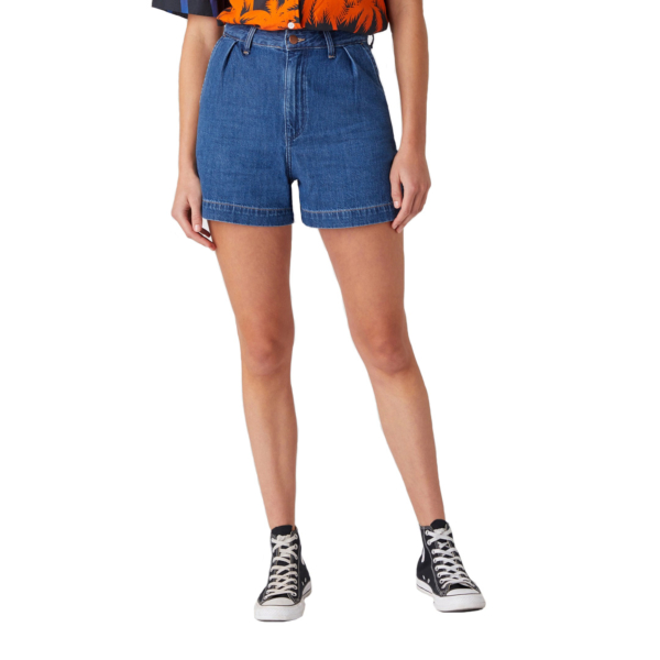 WRANGLER Mom Denim Shorts - Lake Side (W23EZB26K)