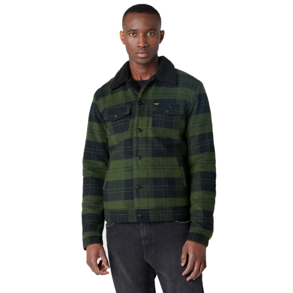 WRANGLER The Trucker Jacket - Rifle Green (W4D2SGG13)