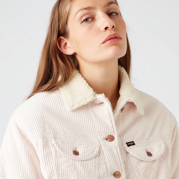 WRANGLER Western Women Jacket - Mauve (W427JOP38)