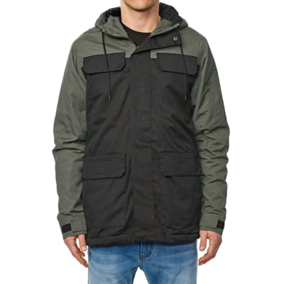 GLOBE Goodstock Blocked Parka II - Black (GB01837016)