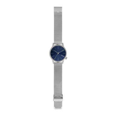 KOMONO Winston Royale Unisex Watch - Silver Blue (KOM-W2353)