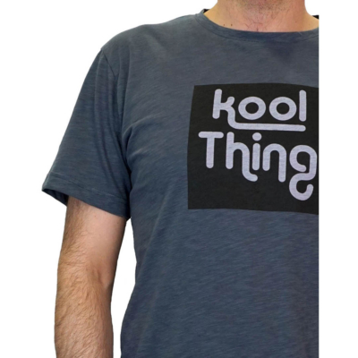 KOOL THING Men T-Shirt - Coal