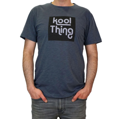 KOOL THING x HOLY STUFF Men T-Shirt - Coal
