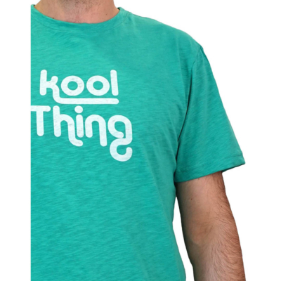 KOOL THING Men T-Shirt - Mint Flama