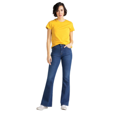 LEE Breese Jeans Flare - Dark Favourite (L32Y-RO-NR)
