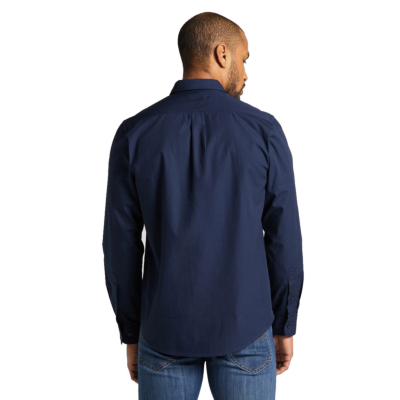 LEE Button Down Shirt for Men in Navy (L880JK35)