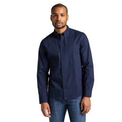 LEE Button Down Shirt - Navy (L880JK35)