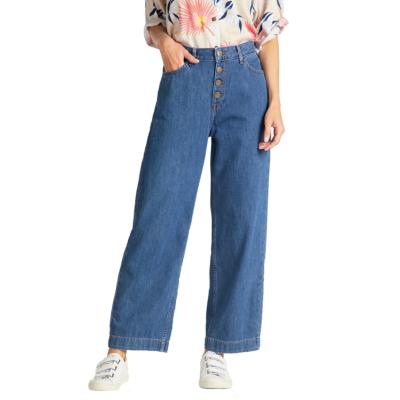 LEE Button Thru Wide Leg Jeans - Dark Drape (L30G-RC-ND)