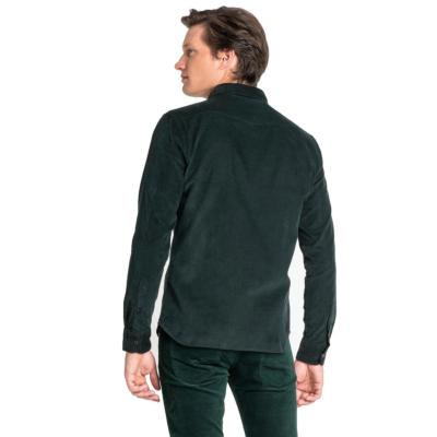 LEE Clean Western Cord Shirt Men - Bottle Green (L644MRBB)