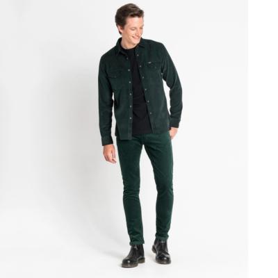 LEE Clean Western Cord Shirt Slim Men - Bottle Green (L644MRBB)
