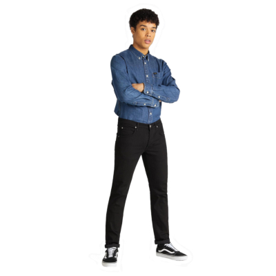LEE Jeans Daren Regular Fit - Clean Black (L706-HF-AE)
