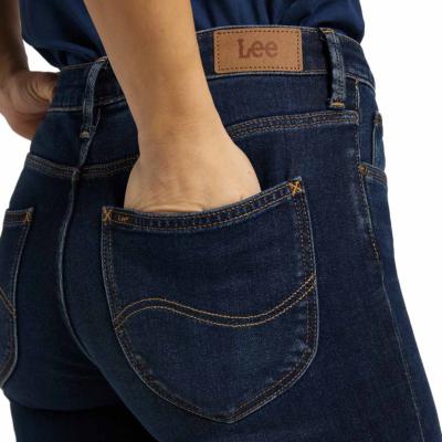 LEE Elly Women Slim Jeans in Dark Rook (back pocket)