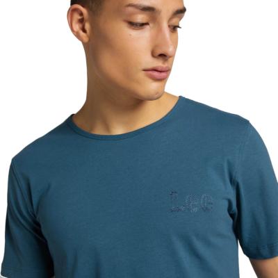 LEE Μπλουζάκι Ανδρικό με Κεντημα (L61ZFEQO)