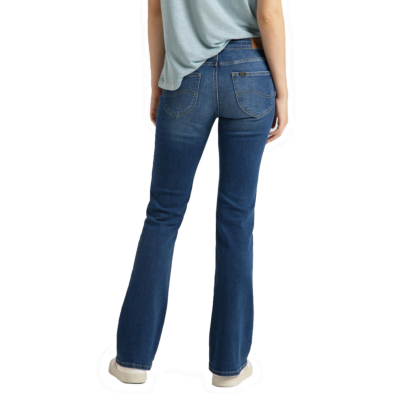 LEE Hoxie Skinny Boot Women Jeans - Dark Len (L530-QD-BE)