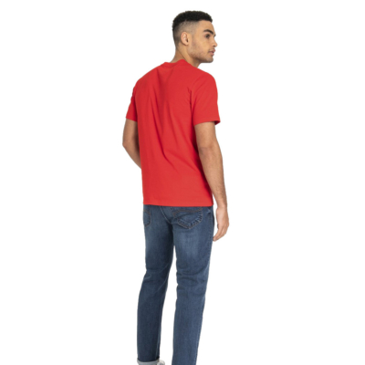 LEE Logo Men T-Shirt - Bright Red (L60UFEEF)