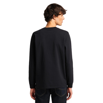 LEE Long Sleeve Pocket Men Tee - Black (L64Q-SW-01)