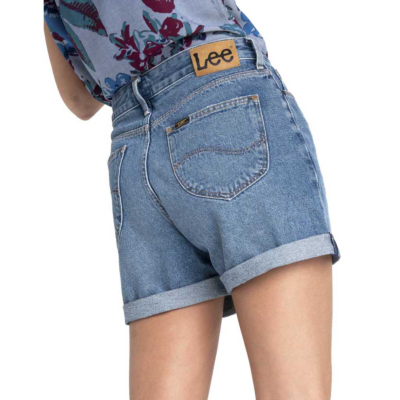 LEE Mom Denim Short - Get Blue (L37MGAQG)