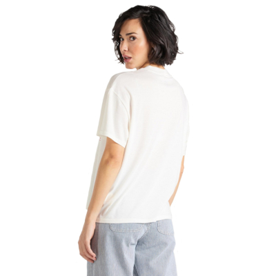 LEE Oversized Tee - Ecru (L41S-BY-NQ)
