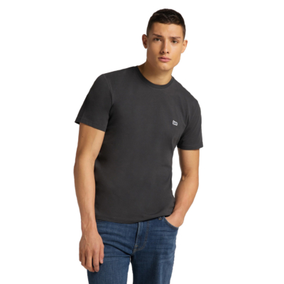 LEE Patch Logo Tee - Washed Black (L60UFQON)