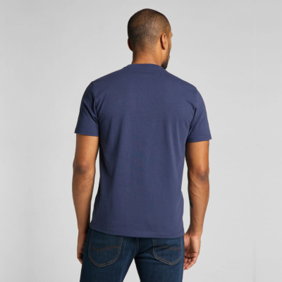 LEE Ανδρικό T-Shirt με Τσέπη Μπλε (L64PSWNM)