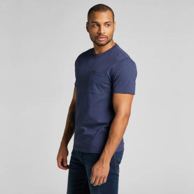 LEE Pocket Men T-Shirt in Dark Navy (L64PSWNM)