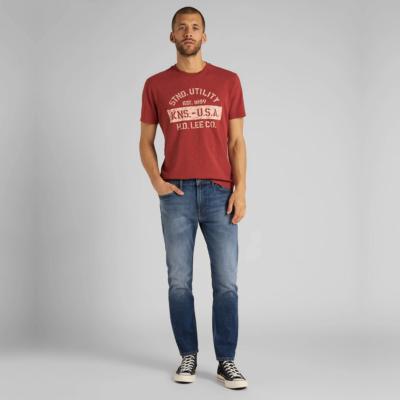 LEE Rider Jeans Slim Cropped - Mid Bold Kansas (L75GPLMK)