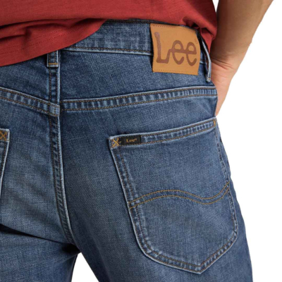 LEE Rider Jeans Cropped - Mid Bold Kansas (back pocket)