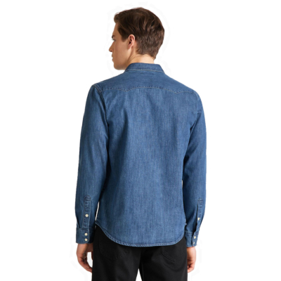 LEE Rider Denim Shirt - Dipped Blue (L851-PL-LA)
