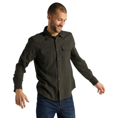 LEE Rider Men Shirt - Olive Green (L851RPNX)