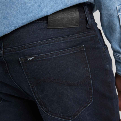 LEE Rider Jeans Slim - Dark Porter (back pocket)