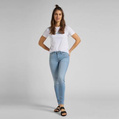LEE Μπλουζάκι Γυναικείο Λευκό (L44NEPLJ)