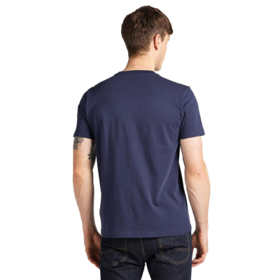 LEE Stripe Logo Tee - Dark Navy (L64V-FQ-NM)