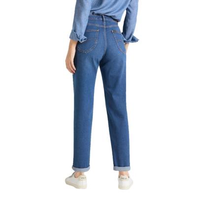 LEE Wide Leg Jeans - Mid Bellevue (L30S-LT-GX)