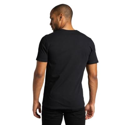 LEE Wobbly Logo T-Shirt Men - Black (L65QAI01)