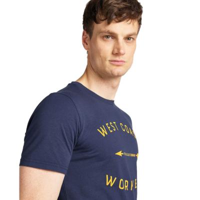 LEE Workwear μπλουζάκι Ανδρικό Μπλε (L60B-FE-NM)