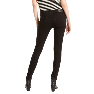 Levi's® 711 Skinny Jeans - Black Sheep (18881-0052)