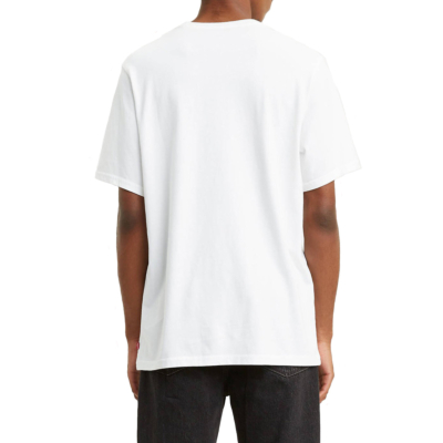 Levi's® 90s Serif Μπλουζάκι Λογοτυπο Ανδρικό Λευκό (69978-0026)