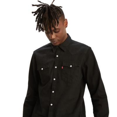 Levi's® Barstow Denim Standard Shirt Men - Marble Black Rinse (85744-0002)