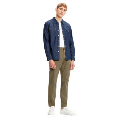 Levi's® Denim Standard Men Shirt - Rinse Marbled (85744-0000)