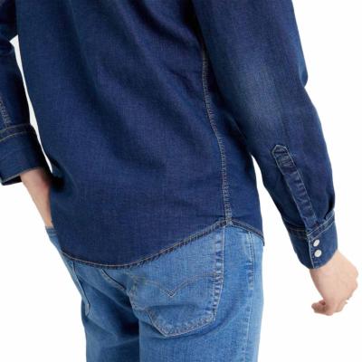 Levi's® Barstow Denim Stretch Shirt - Dark Worn Blue (85744-0009)
