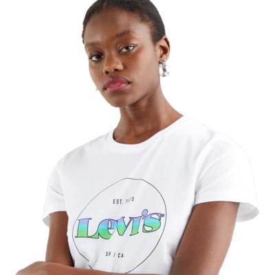 Levi's® Μπλουζάκι Γυναικείο Λογότυπο Λευκό (17369-1295)