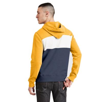Levi's® Colorblock Sportswear Hoodie - Yellow/ Marshmallow (56613-0003)