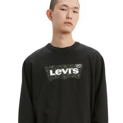 Levi's® Φούτερ Ανδρικό Λογότυπο - Μαύρο (17895-0090)