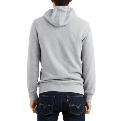 Levi's® Housemark Graphic Hoodie - Midtone Heather Grey (19491-0037)