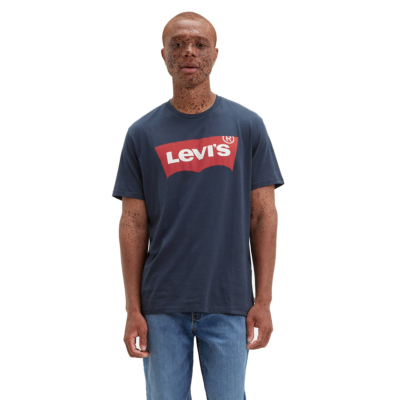 Levi's® Graphic Logo T Shirt - Dress Blue (17783-0139)