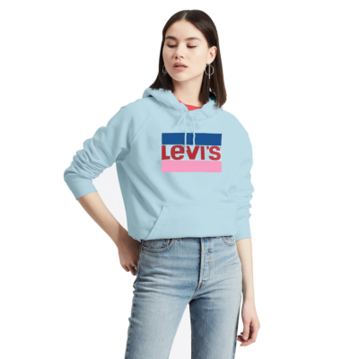 Levi's® Graphic Sport Hoodie - Baltic Sea (35946-0082)
