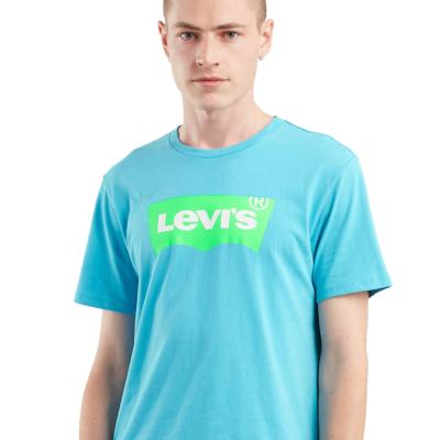 Levi's® Μπλουζάκι Ανδρικό Λογότυπο Τυρκουάζ (22489-0155)